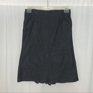 Bisou Bisou Women's Black Skirt Size 8